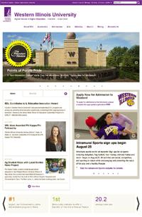 New WIU Webpage