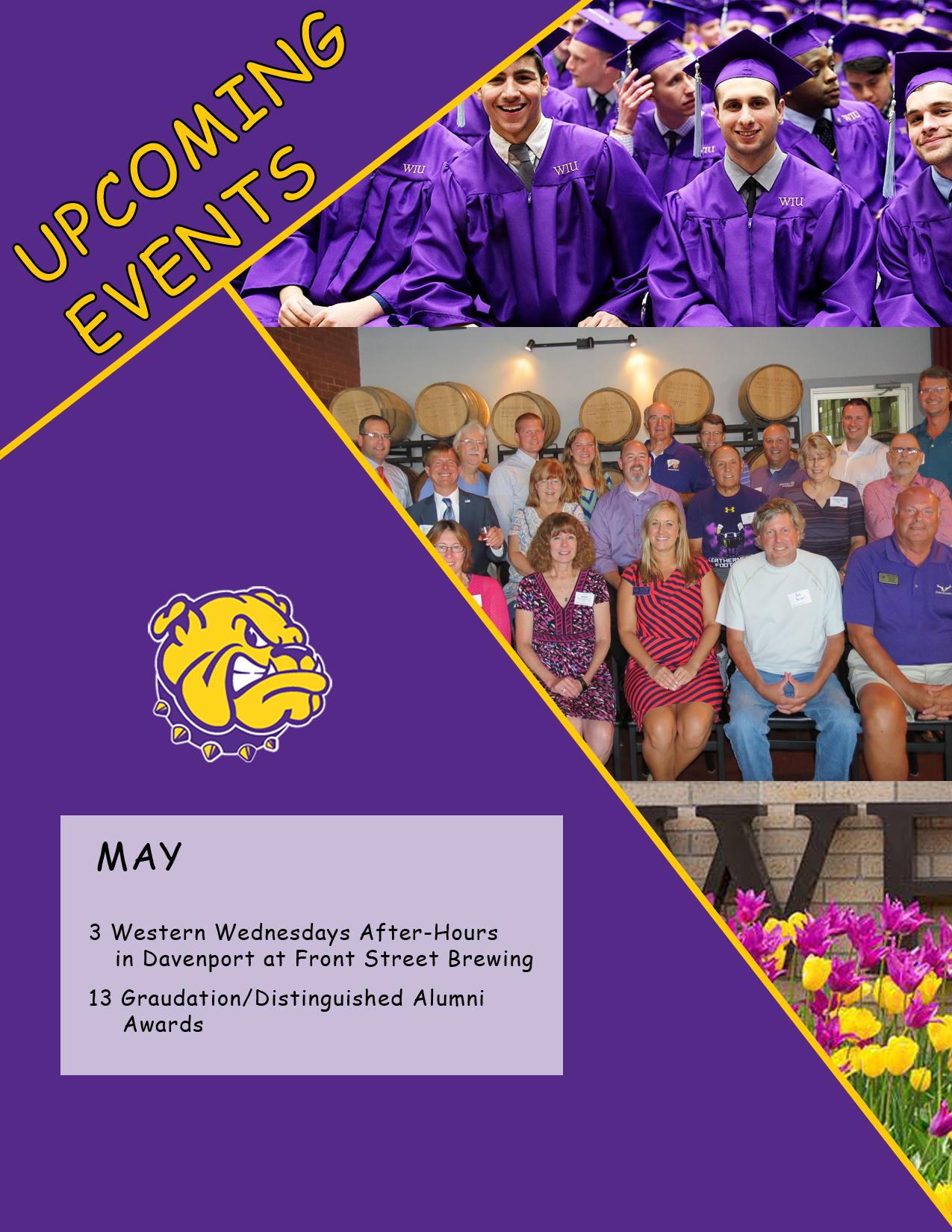 May 2017 alumni Events