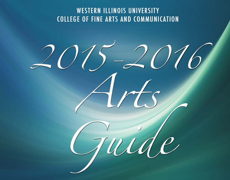 2015-2016 COFAC Arts Guide.