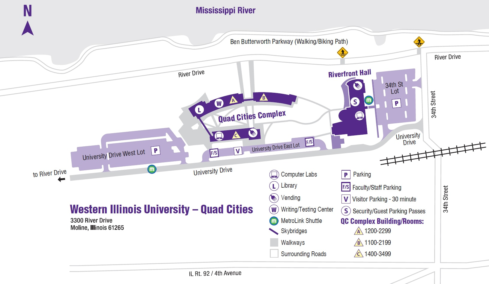 Campus Map - Web Version - Western Illinois University on u of i quad map, chicago state university map, american university quad map, illinois wesleyan map, distances from quad cities map, illinois state geological survey maps, aurora university illinois map, beijing china map, stanford university quad map, illinois state campus, university of chicago area map, illinois wesleyan university, western illinois university quad map, university of illinois map, illinois river map,