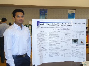 Chemistry Student Presenting Research.
