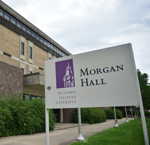 outside of Morgan Hall