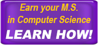 Earn Your MS in Computer Science. Learn How.