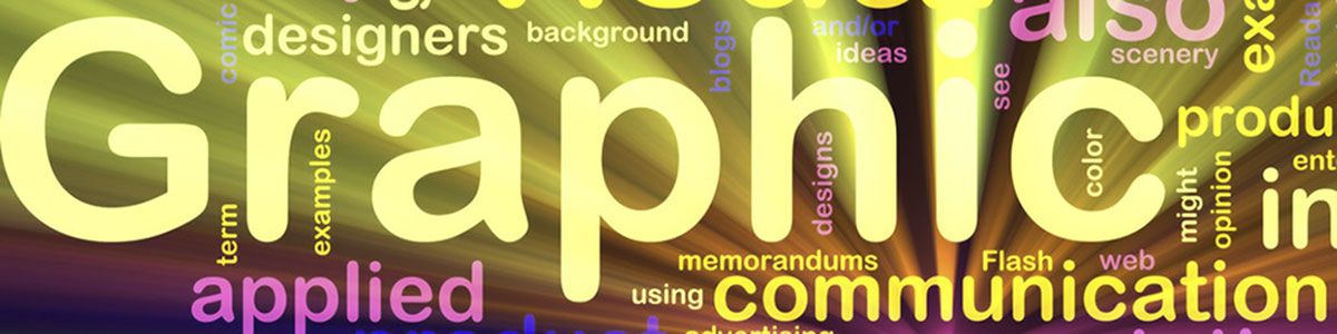 words graphic communication