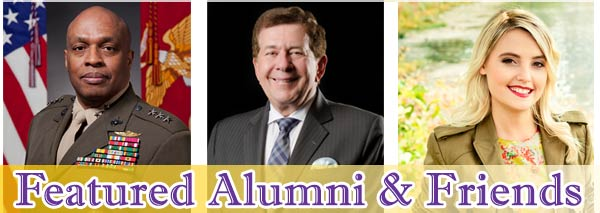 Alumni Achievement Award Winners.