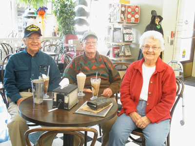 Howard Montgomery celebrates 100th birthday