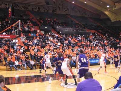 WIU vs. Oregon State Basketball Game