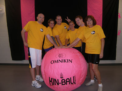 Big Pink Volleyball Team
