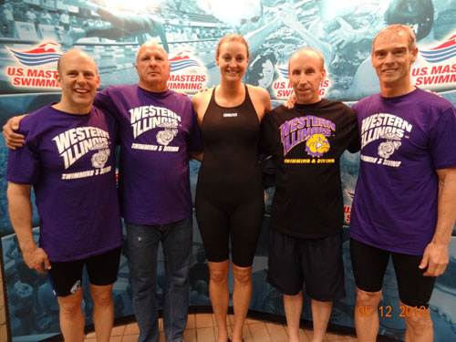 WIU swimming alumni