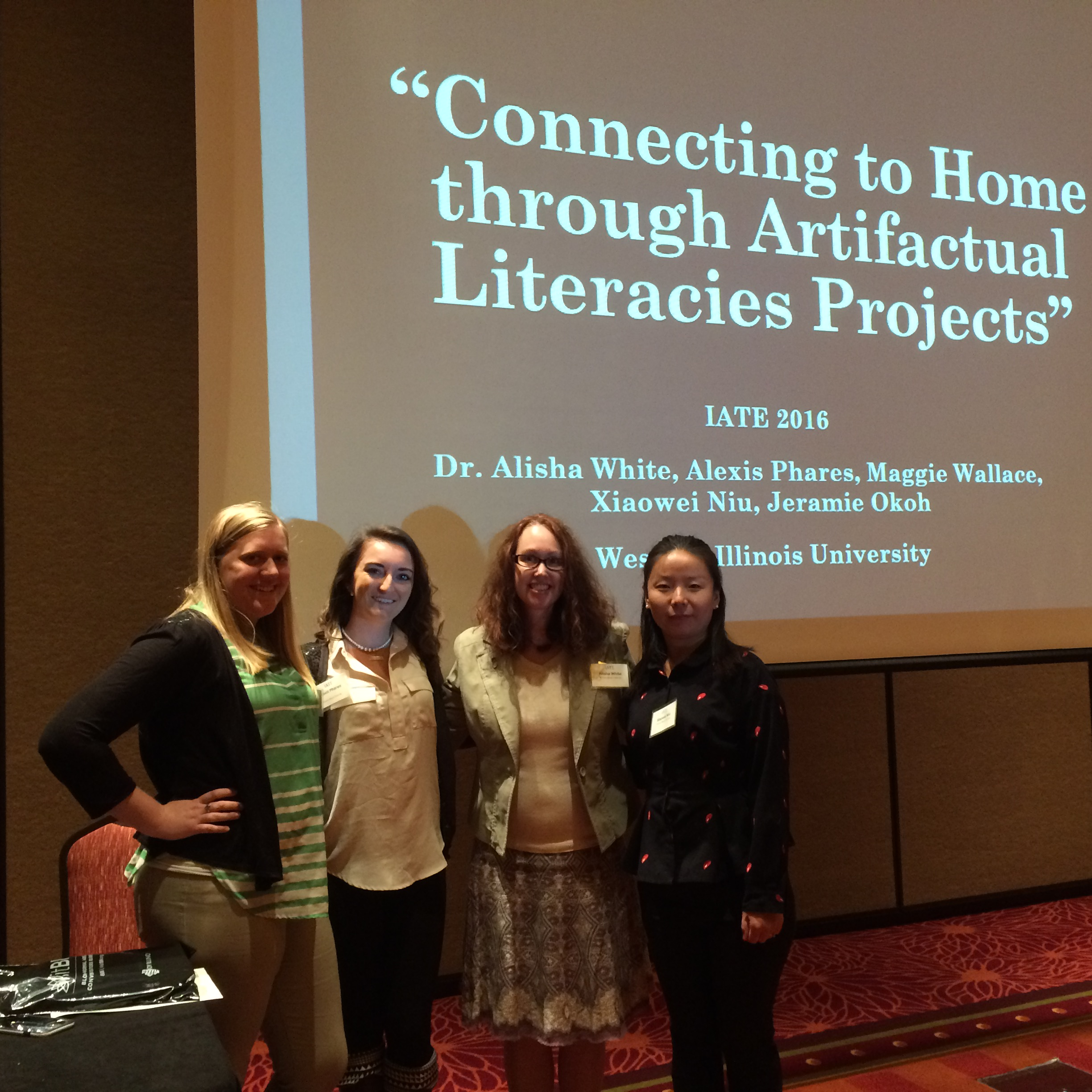 iate group presenting
