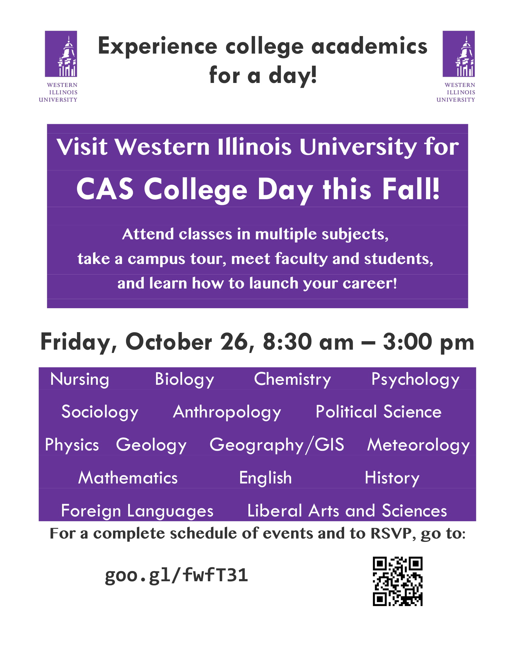 CAS Day Fall 2018