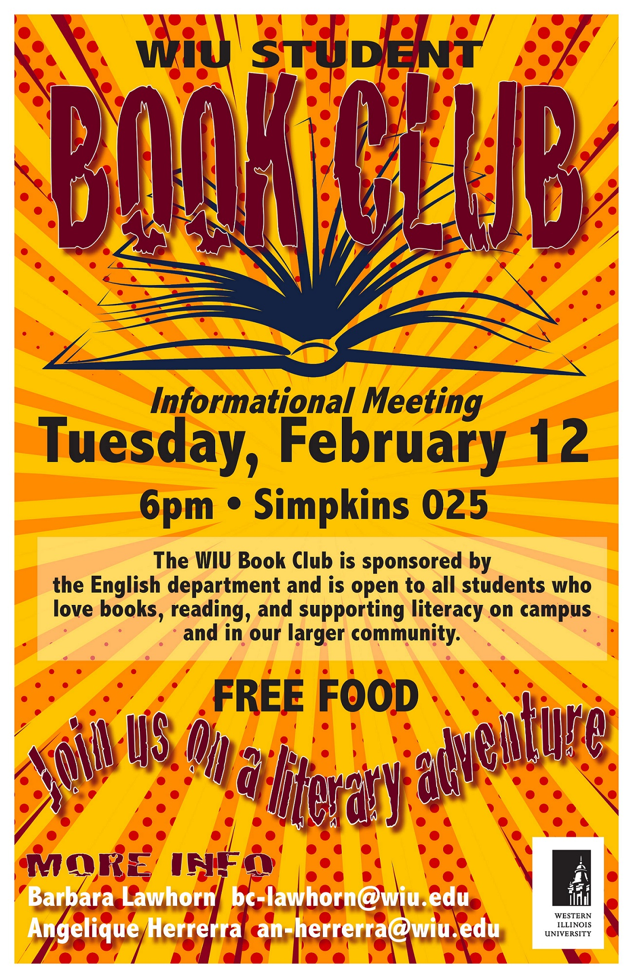 Book Club Informational Meeting
