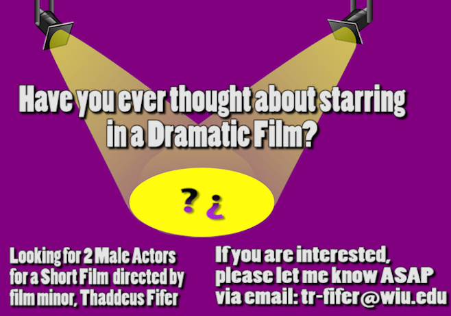 actors needed FL18