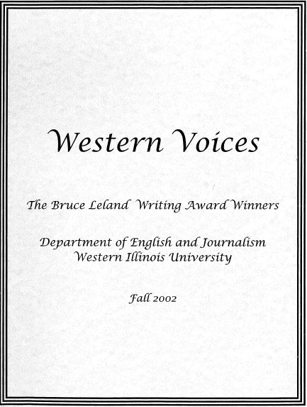 Western Voices Cover 2002