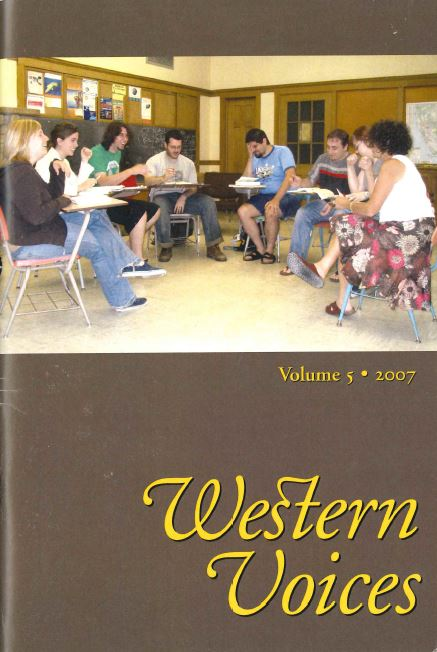 Western Voices Cover 2007