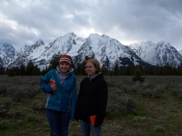 Students at the Grand Tetons