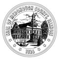 McDonough County Seal.