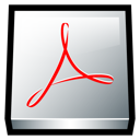 Adobe Acrobat Icon - Square