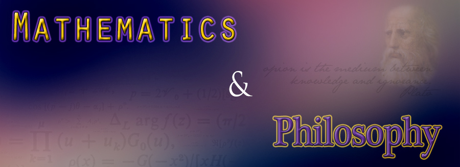 Mathematics and Philosophy.