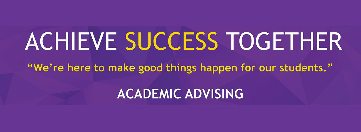 Advising Banner Achieve success together