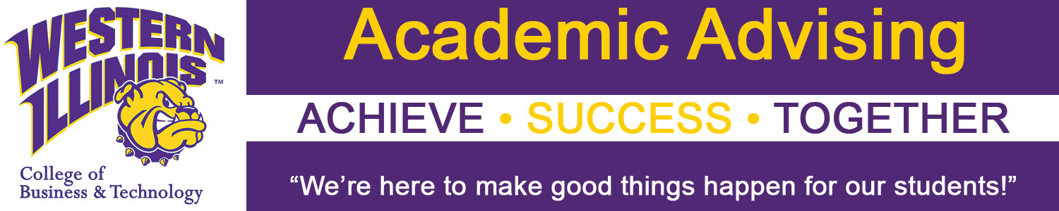 Academic Advising Achieve Success Together Banner