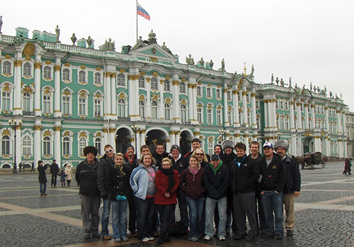 students in russia