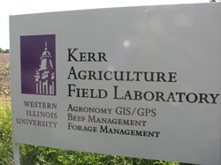 Kerr Agriculture Field Laboratory Sign