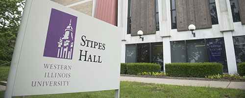 Stipes Hall sign