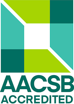 AACSB Accredication Logo.