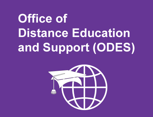Office of Distance Education and Support Icon