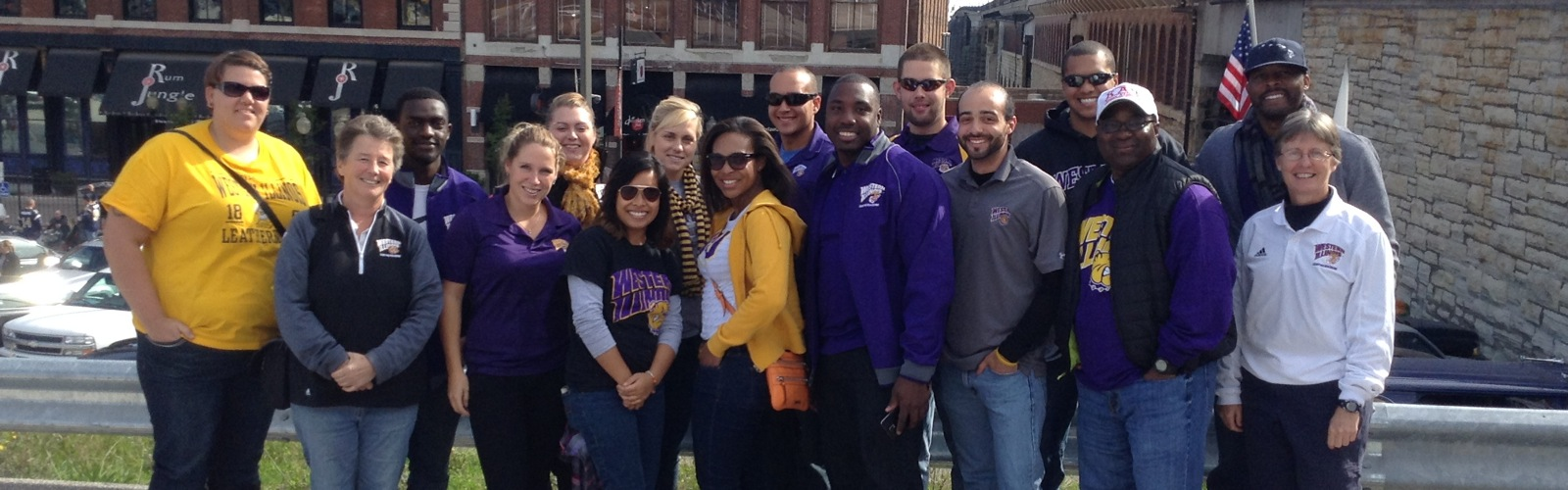 Sport Management Students attend St. Louis Rams Game