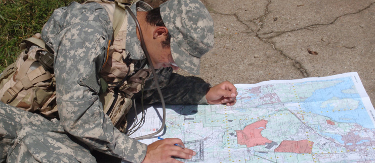 Mapping for Land Navigation Course