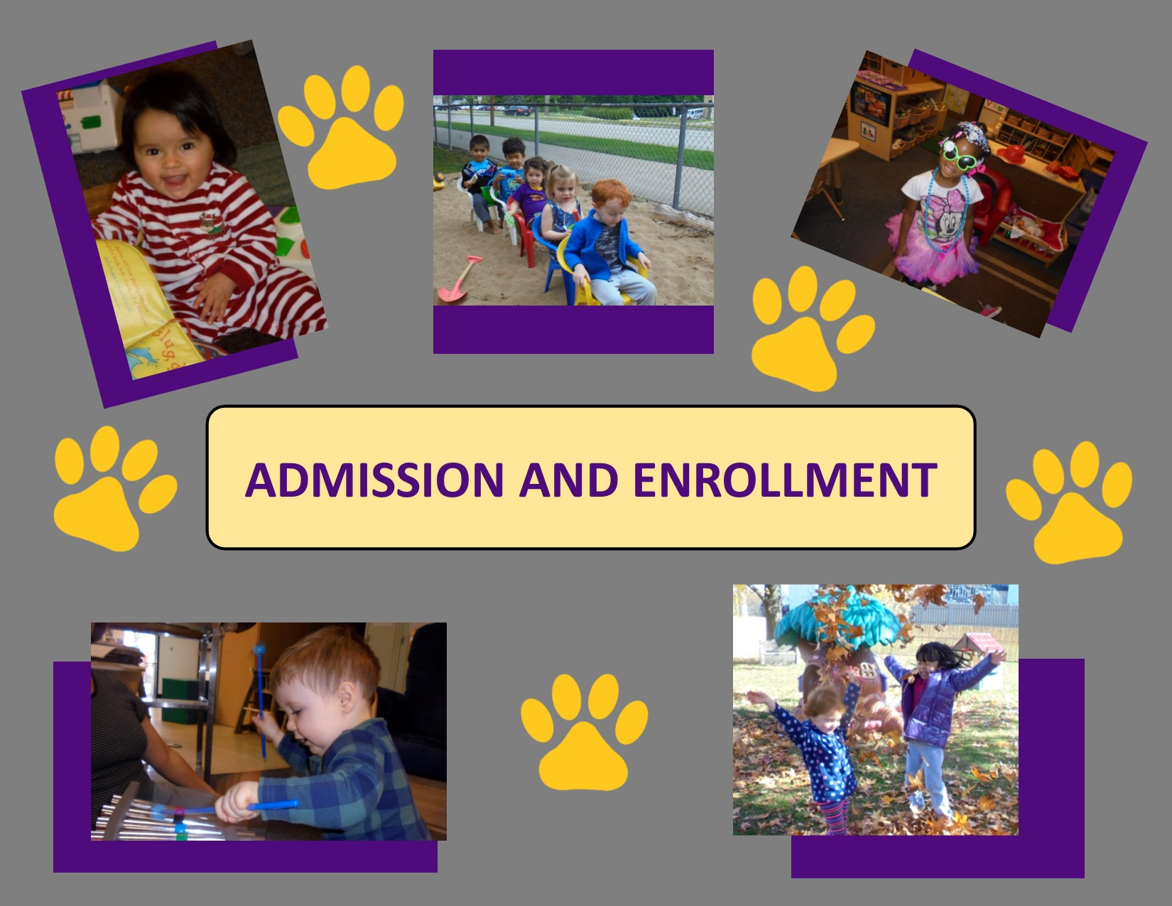 admission and enrollment