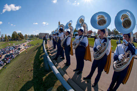 WIU Marching Leathernecks