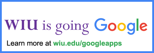 WIU is going Google