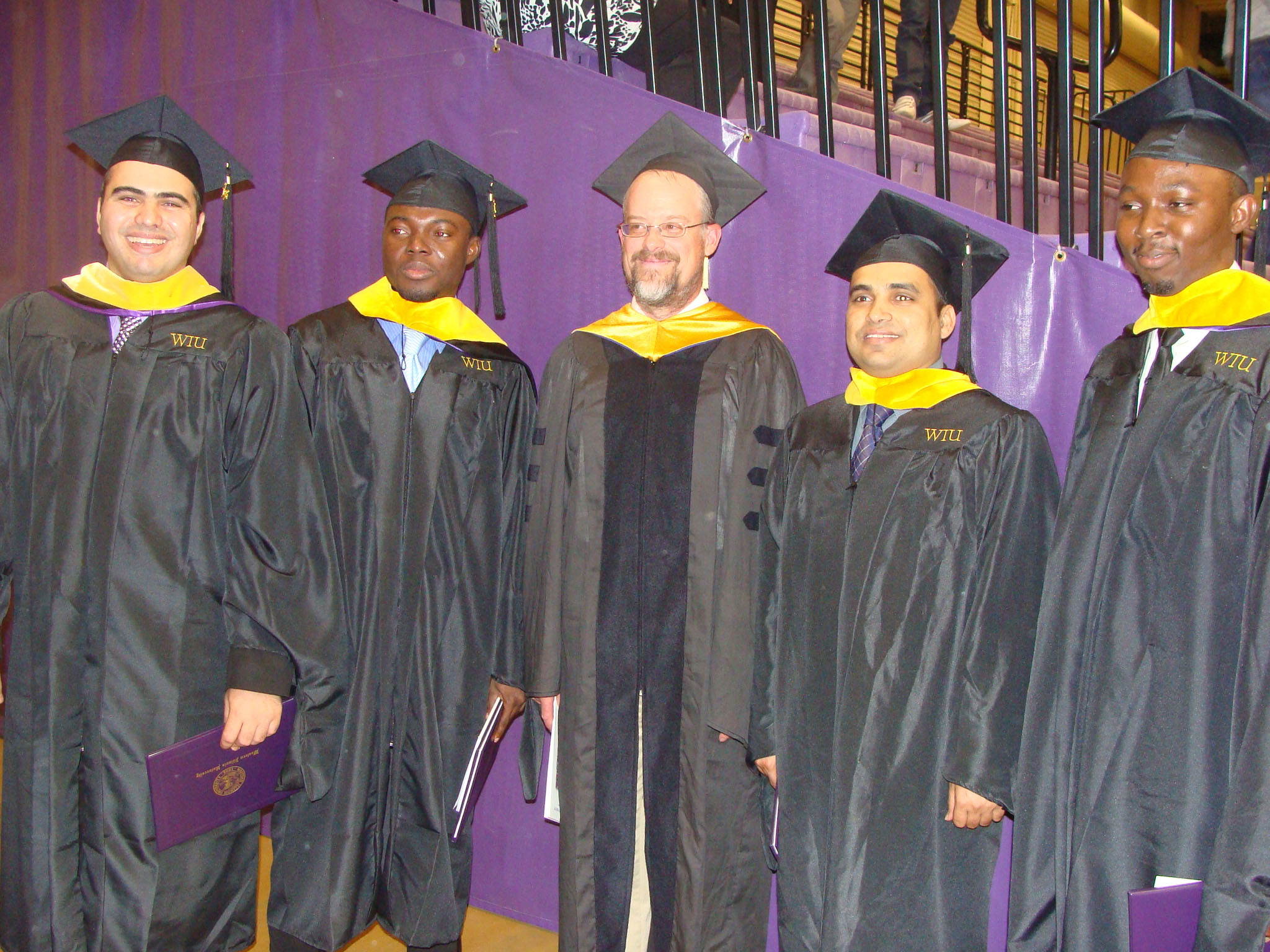 Photo of Dr. Boley and grads