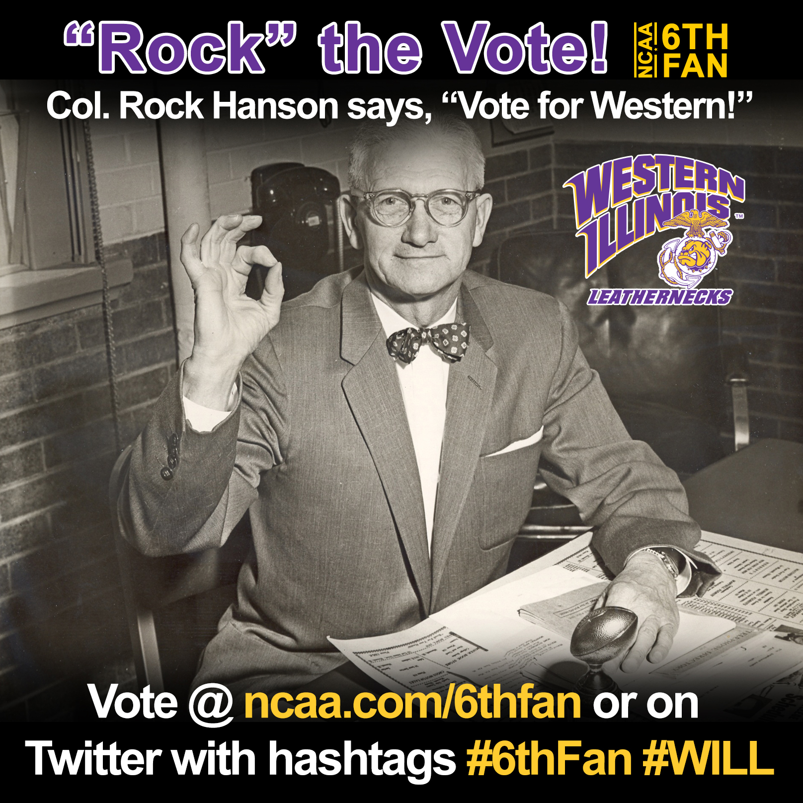 "Vote February Room Finalists 2014: ""Rock"" The Vote! WIU 48-Hour Voting Party For The NCAA"