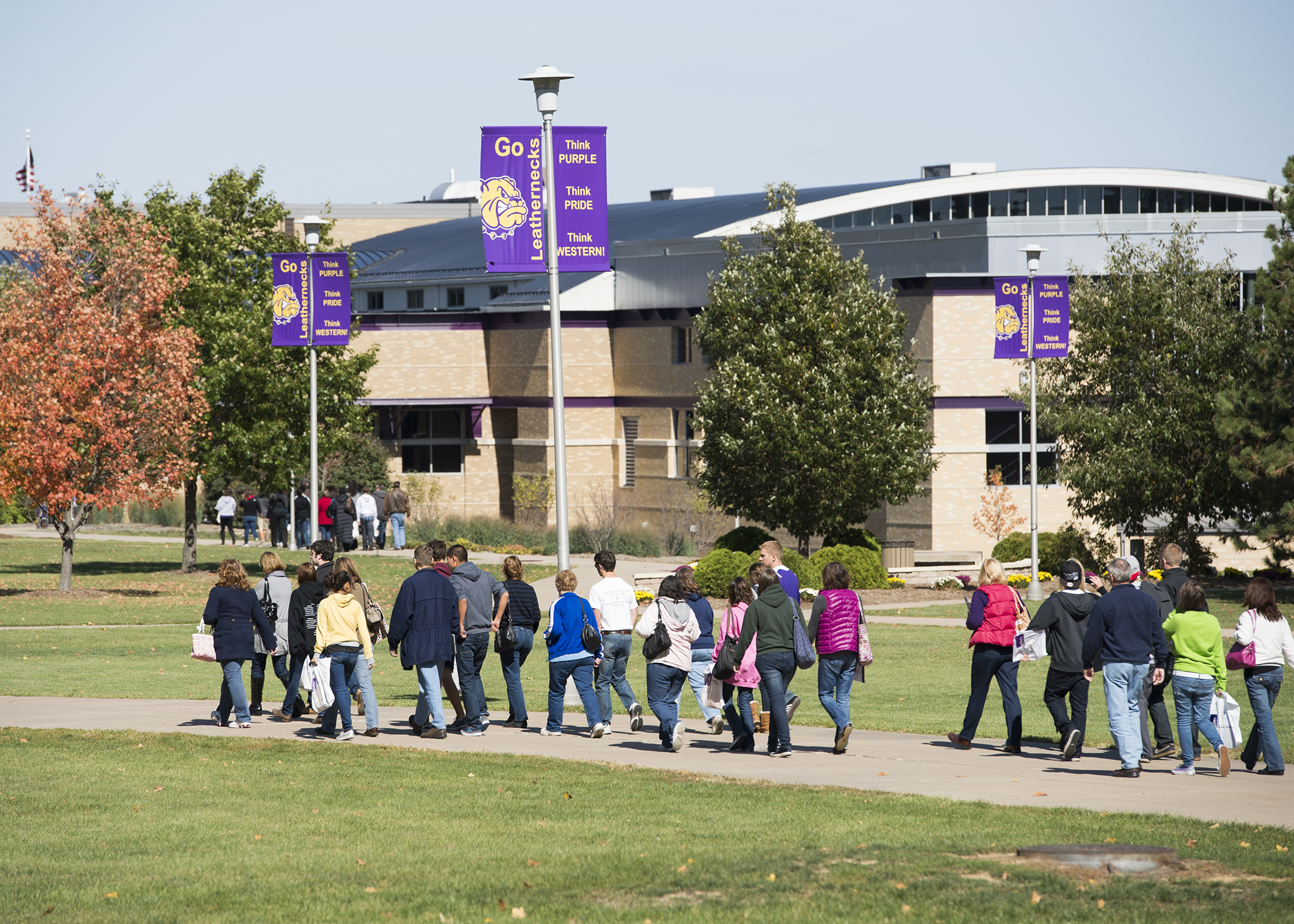 Wiu admissions hosts spring events western illinois - University of illinois admissions office ...