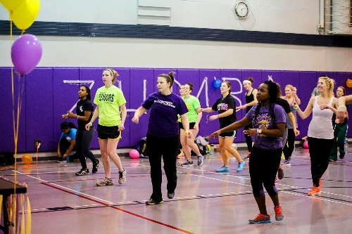 Western Illinois University Campus Recreation is hosting ''Fitness Frenzy'' from 6-8 p.m. Tuesday, April 28 on Western's Hanson Field. The outdoor event came about by popular request.  ''In February, we held a Zumba event in the Spencer Student Recreation Center, and it was a great success,'' Campus Recreation Director of Fitness Services Kelley Kenady explained. ''After that, we received requests for another group fitness event, and so we decided to organize Fitness Frenzy this spring.''