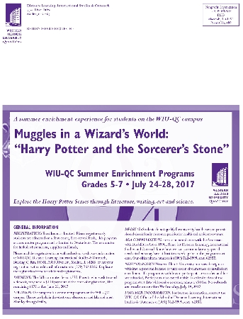 Muggles in a Wizard's World Summer Program