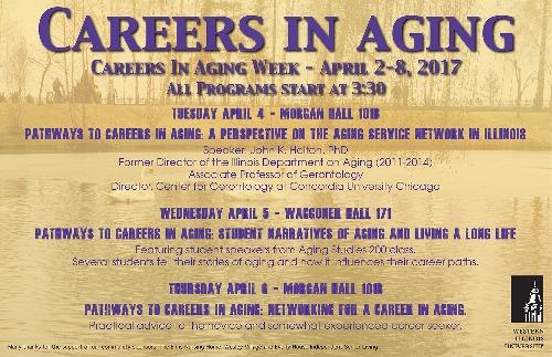 Wiu Marking Careers In Aging Week Western Illinois University News Office Of University Relations