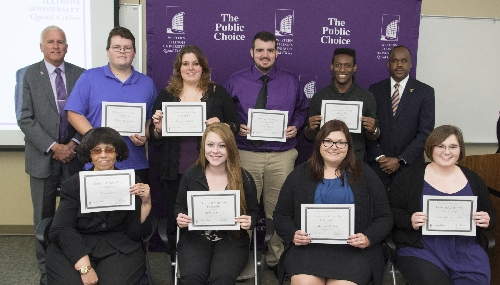 Scholarship Recipients Named at Western Illinois University-Quad Cities