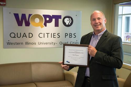 WIU-QC Employee Receives Award from National Organization