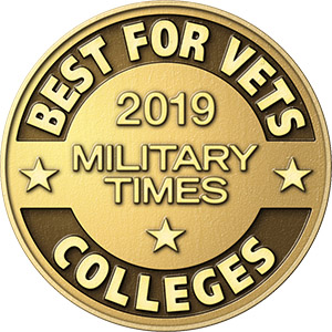 WIU: Military Times 'Best for Vets College' 2019