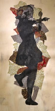 1st GALEX 53 - BLICK PURCHASE AWARD Roberto Torres - ''Tejana'', collagraph