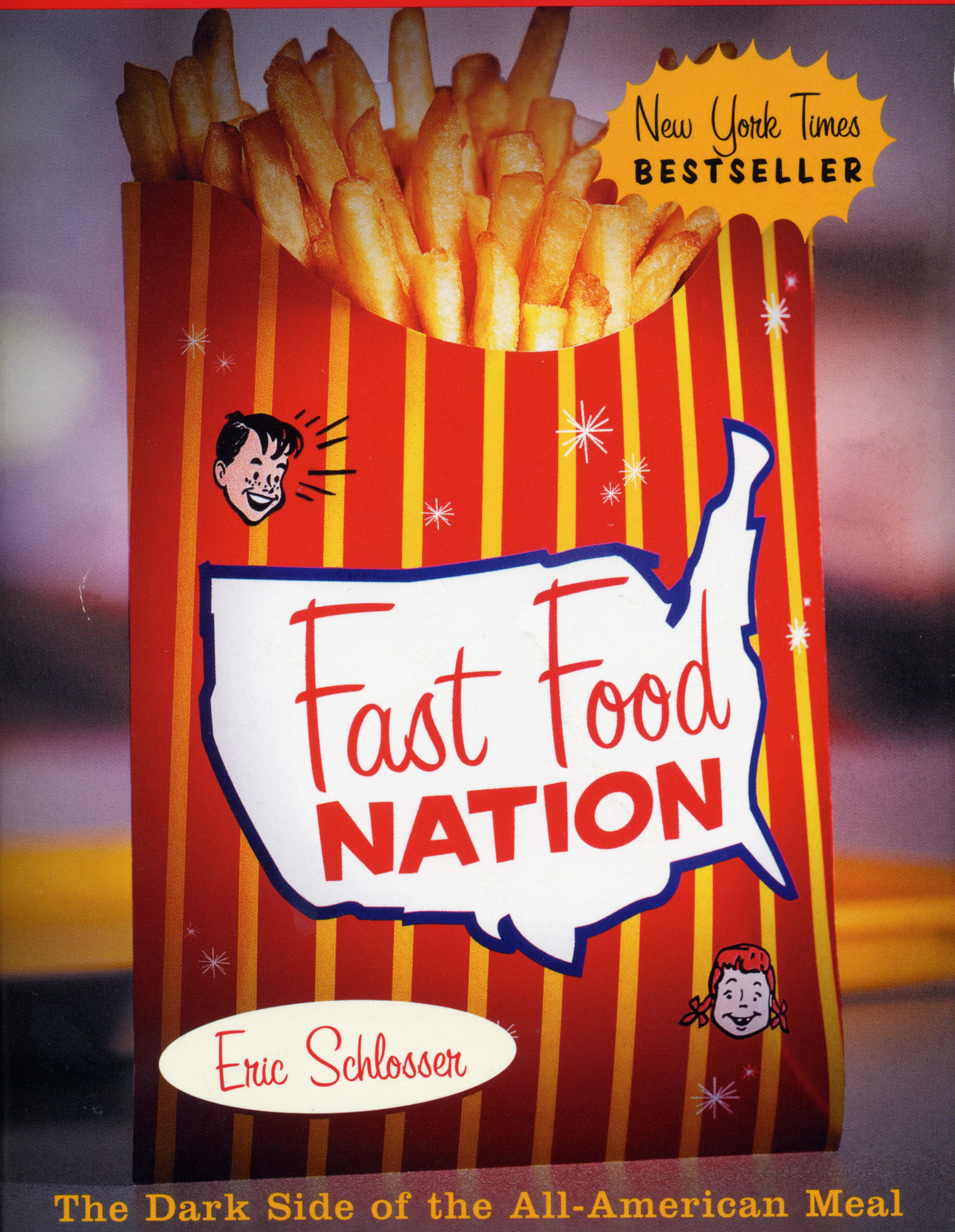 a report on eric schlossers book fast food nation the dark side of the all american meal Fast food nation the dark side of the all american meal by eric schlosser available in trade paperback on powellscom, also read synopsis and reviews to a degree both engrossing and alarming, the story of fast food is the story of postwar america.