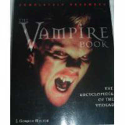 Photo of The Vampire Book: The Encyclopedia of the Undead.