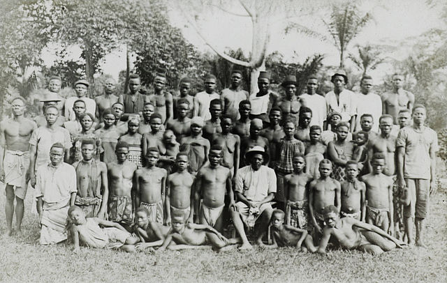 Photo of Congolese in Bongandanga district