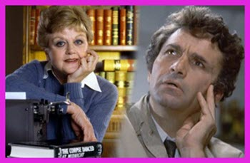 Images of Columbo and Jessica Fletcher