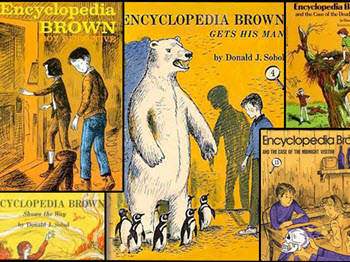 Image from Encyclopedia Brown